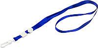 """Шнурок для бейджа з карабіном """"Axent"""" №4531-02 синій(20)(25)(100), фото 1"""
