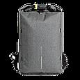 "Рюкзак с защитой антивор XD Design Bobby Urban Lite 15.6"". Grey, фото 2"