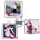 Детский игровой набор для ухода за куклой Раскладной чемодан 3в1 Baby Nurse Smoby 220346, фото 6