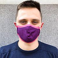 Защитные маски повязки 2-х слойные многоразовые ХЛОПКОВЫЕ бязь КОМФОРТ