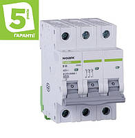 Автоматический выключатель 3P 25А C 4,5кА NOARK серия Ex9BS, фото 1