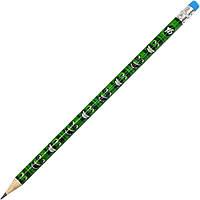 """Олівець гр. """"Yes"""" №280459 Green face з гумкою,в пласт. тубі(39)"""