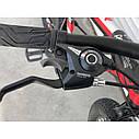 """Спортивний велосипед чорно-червоний ТopRider 26"""" металева рама 17"""" ріст 160 - 180см, фото 5"""