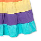 Разноцветное платье без рукавов Сhildren's Place для девочки, фото 3