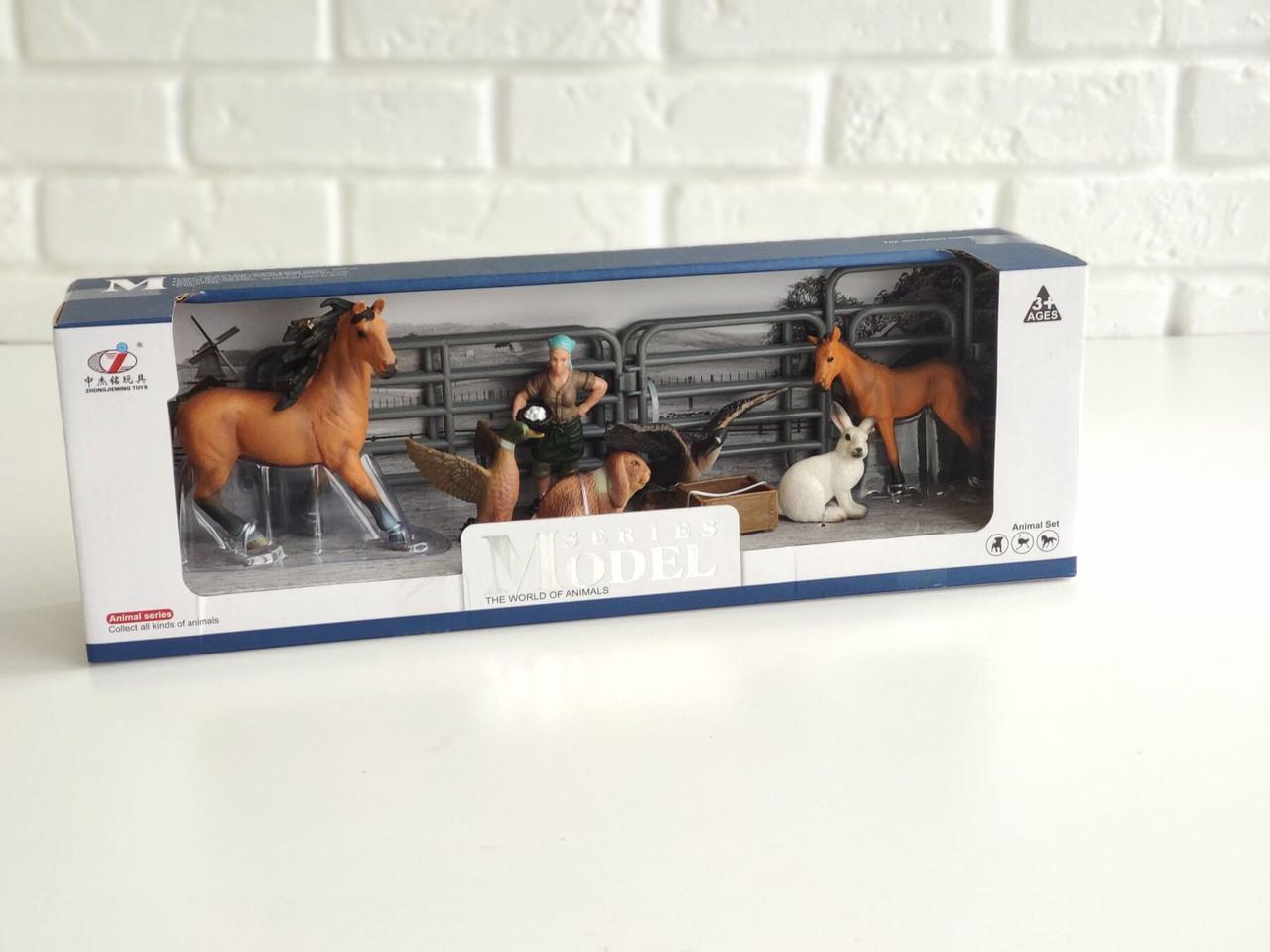 """Большой игровой набор """"Животные для фермы"""" Series Model Q 9899-U4-4"""