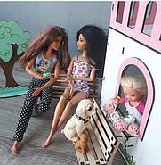 Набор текстиля в кукольный домик NestWood Мини Коттедж (LOL) / МиниЛюкс (Барби), фото 3