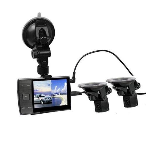Видеорегистратор S3000 A+ 2 камеры-присоски