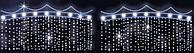 Светодиодная LED перетяжка уличная 180Х255cm X1