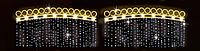 Светодиодная LED перетяжка уличная 185Х255cm X1