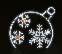 """Светодиодный LED мотив """"Новогодний"""" 200X220cm"""