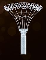 3D кронштейн на опору LED 600Х450СМ