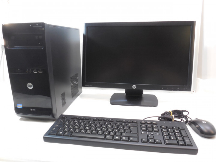 """Компьютер в сборе, Intel Core i3 3220, 4 ядра по 3,3 ГГц, 4 Гб ОЗУ DDR-3, SSD 240 Гб, монитор 19""""/16:9/"""