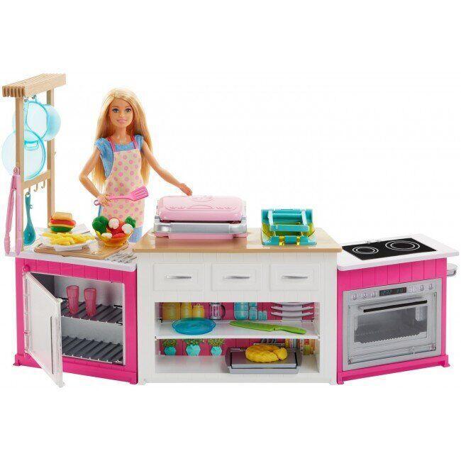 Набор с куклой Barbie Готовим вместе
