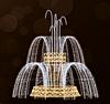 """3D светодиодная конструкция """"Фонтан"""" 700х475cm"""