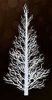 """3D светодиодная фигура """"Дерево"""" 600X350cm"""