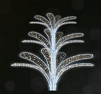 """3D светодиодная фигура """"Дерево"""" 500X500cm"""