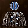 """3D светодиодная конструкция """"Фонтан"""" 250х250cm"""