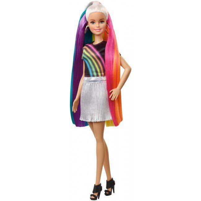 Кукла Barbie Радужная и сверкающая