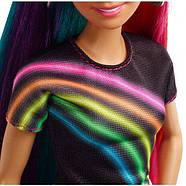 Кукла Barbie Радужная и сверкающая, фото 4