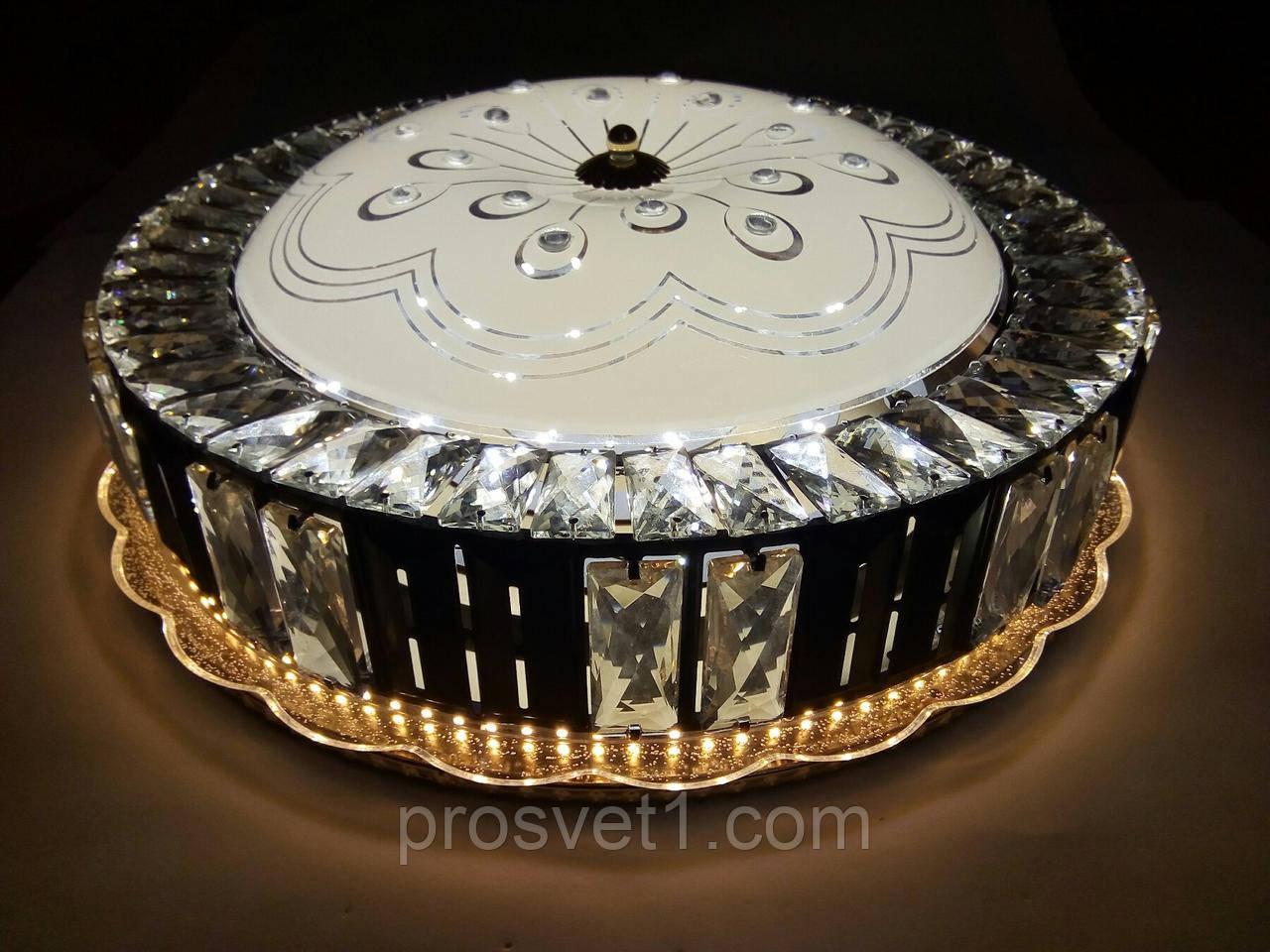 Люстра кругла стельова світлодіодна 1817/500 85W