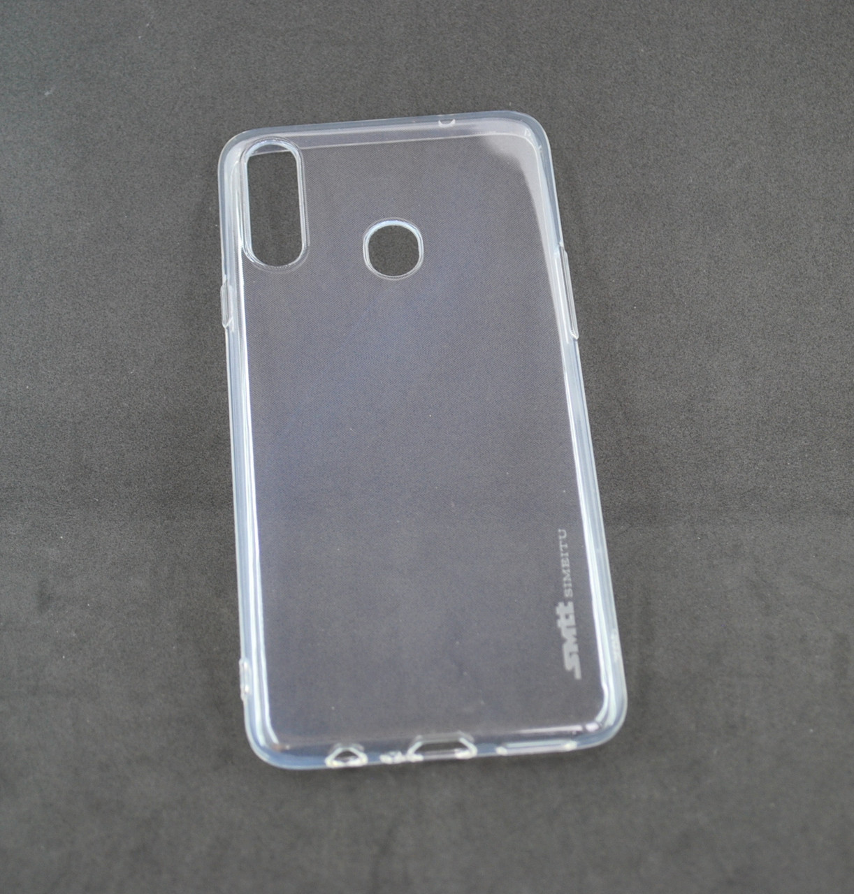 Чехол Huawei Honor 8X Silicone Smitt Прозрачный