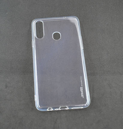 Чехол Huawei Honor 8X Silicone Smitt Прозрачный, фото 2