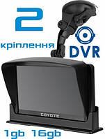 GPS COYOTE 940 DVR Double Hector + AV 1gb-16gb Андроид Навигатор с Видеорегистратором для грузовых и легковых