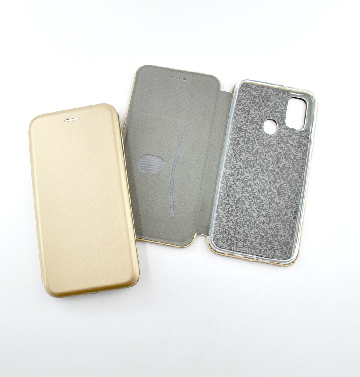 Чехол-книжка Flip Cover for Samsung M30s (M307F) Level Gold