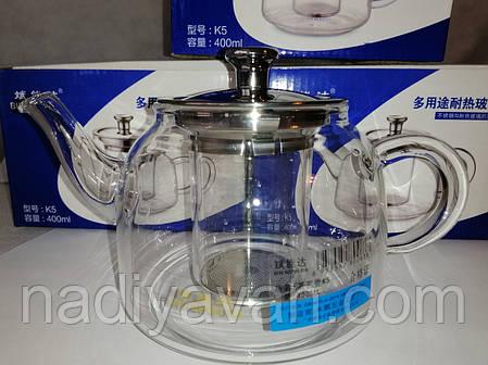 Чайник заварочный BIN NENG DA 400 мл., фото 2