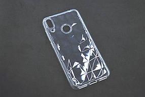 Чехол для телефона Huawei Y9 (2018) Silicone Prism Series прозрачный