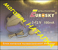 Блок питания с регулятором 2-12V  100mA  Eurosky для Т2 антенны