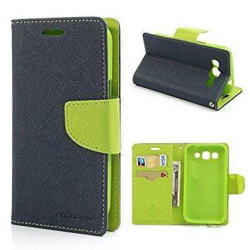 Чехол-книжка Flip Cover for Huawei Y3C Goospery Dark blue, фото 2