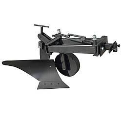 Плуг для мотоблока под Zirka-105 (короткая рама, опорное колесо)