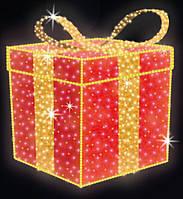 """3D светодиодная фигура """"Подарок""""Ø60cm"""