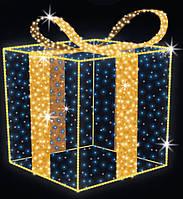 """3D светодиодная фигура """"Подарок""""Ø150cm"""