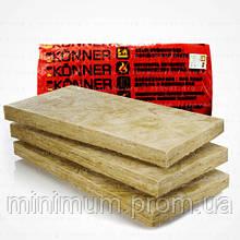 Минеральная базальтовая вата MASTER-ROK 80 / KONNER 80 (50х600х1000 мм) 6 м2