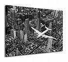Фотокартина 60х80 см. на холсте Самолет DC-4 над Манхэттеном Pyramid International (WDC90303), фото 4