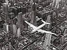 Фотокартина 60х80 см. на холсте Самолет DC-4 над Манхэттеном Pyramid International (WDC90303), фото 3