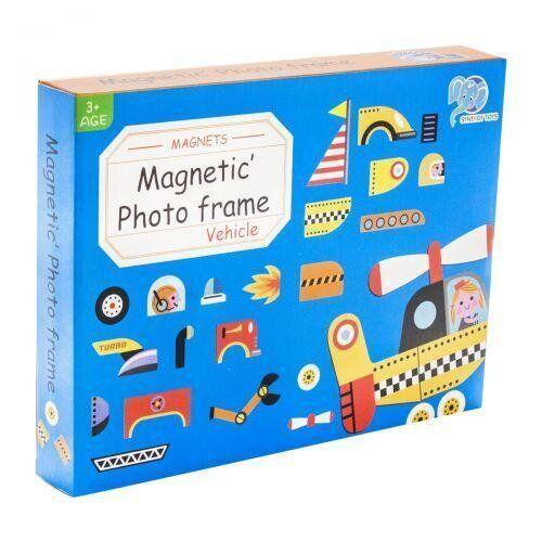 """Магнитная игра-пазл """"Транспорт"""" 8926 - 1 Synergy Toys"""