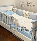 Кровать подростковая с бортиками от 3 лет Infiniti Baby Dream, фото 4
