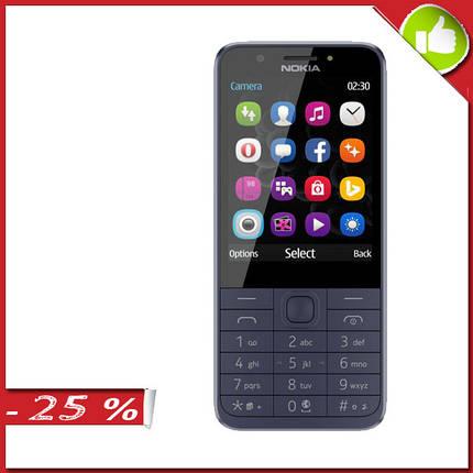 Мобильный телефон Nokia 230 Dual Sim Blue (16PCML01A02), фото 2