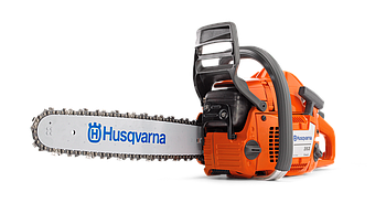 "Бензопила Husqvarna 353 мощность 3,26 л/с, длина шины 15"", шаг цепи 0.325"", толщина звена 1.5mm"