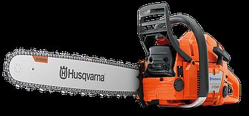 "Бензопила Husqvarna 372XP, мощность 5,5 л/с, длина шины 18"", шаг цепи 3/8, толщина звена 1.5мм"