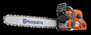 """Бензиновая пила Husqvarna 572XP, мощность 5,8 л/с, длина шины 18"""", шаг цепи 3/8, толщина звена 1.5мм"""