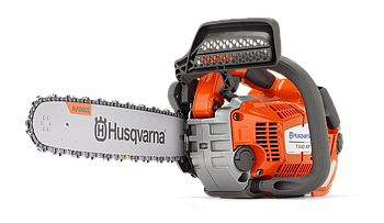 "Пила цепная бензиновая одноручная Husqvarna T540XPII,мощность 2,4 л.с., длина шины 14"", шаг цепи 3/8 mini,"