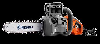"Электропила Husqvarna 418EL , мощность 1800Вт, длина шины 14"", шаг цепи 3/8"", толщина звена 1,3 мм"