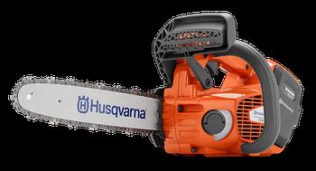 """Пила цепная аккумуляторная Husqvarna T535iXP, напряжение 36В, двиатель без щеток, длина шины 12"""", шаг цепи"""