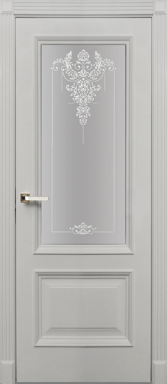 Двери межкомнатные деревянные, с массива ясеня, дуба, ольхи. Мод. 1294
