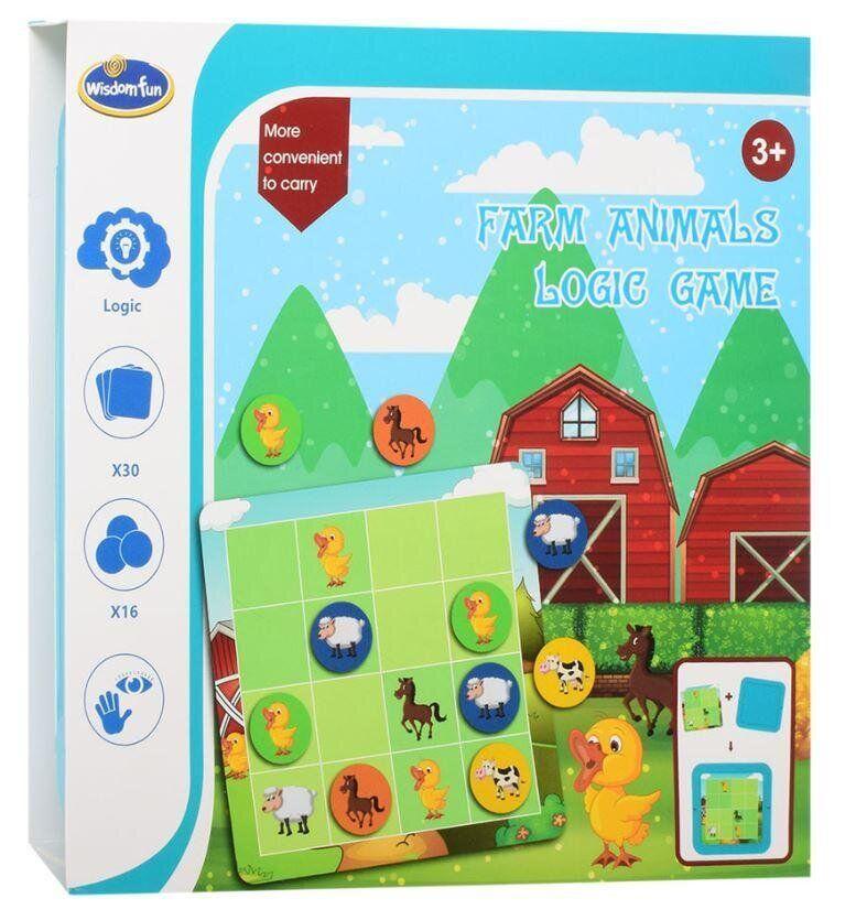 Игра головолома wisdom fun Farm animals logic game Ферма