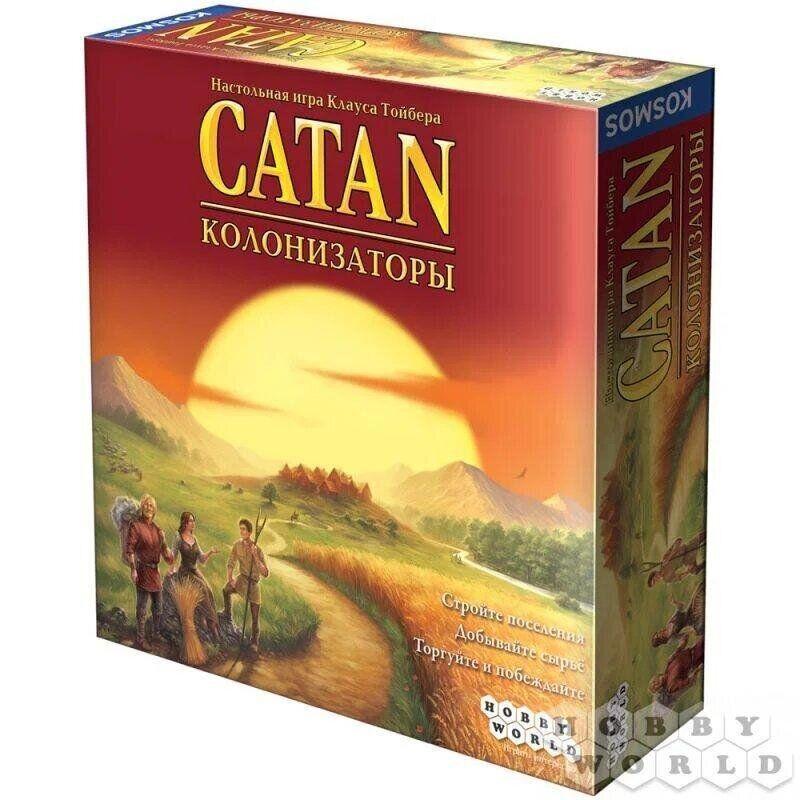 Настольная игра Колонизаторы (Catan) HobbyWorld